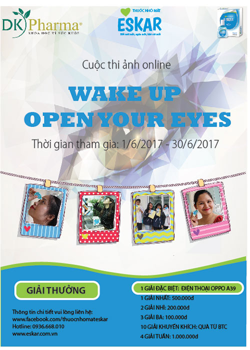 "Cuộc thi ảnh online  ""Wake up – Open Your Eyes"" 1"