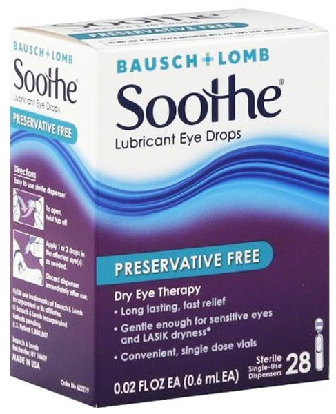 Bausch + Lomb Soothe 1