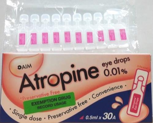 Atropine 0.01% 1